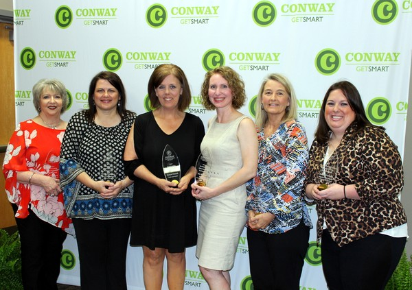 2017 Outstanding Administrative Professionals at the Administrative Professionals Awards - Conway Area Chamber of Commerce, Conway, Arkansas