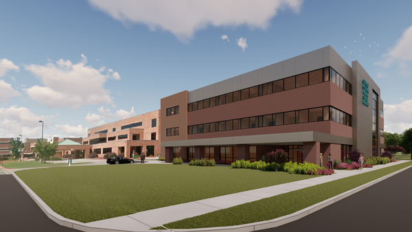 Conway Regional's four-story, 56,000-square-foot medical office building is part of the first phase of a $40 million capital investment and is expected to be completed in 2022.