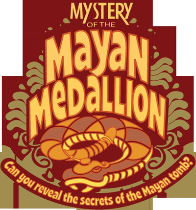 Mystery of the Mayan Medallion is an exhibit by the Discovery Network, a statewide program of the Museum of Discovery in Little Rock.