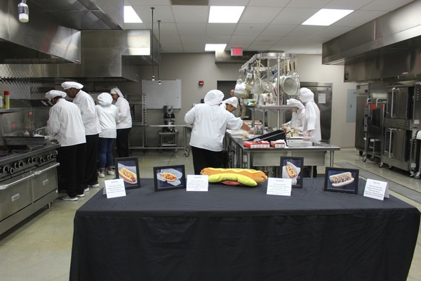 The semifinalists prepared and presented their recipes to judges in the culinary arts classroom at Conway High School.